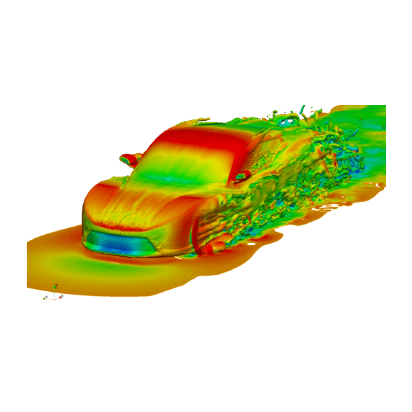 Thermodynamic CFD Simulation